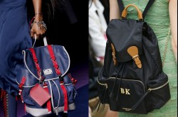 Женские рюкзаки - модные тенденции весна – лето 2017 года