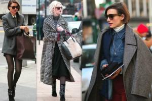 Какие сумки носят под пальто