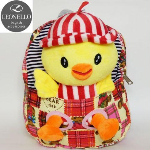 Детский рюкзак с игрушкой - Цыпленок