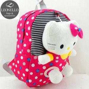 Детский рюкзак с игрушкой - Котик