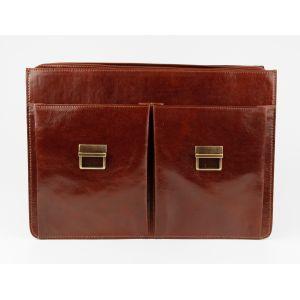 Chiarugi Портфель кожаный мужской CHIARUGI 4431 MARR