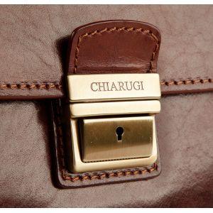 Chiarugi Портфель кожаный мужской CHIARUGI 4470 MARR
